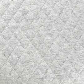 Tissu doublure matelassé chiné - écru x 10cm