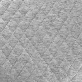 Tissu doublure matelassé chiné - gris clair x 10cm
