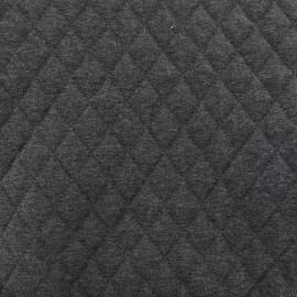 Tissu doublure matelassé chiné - gris anthracite x 10cm
