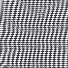 Wool fabric mini Houndstooth - white x 10cm