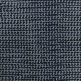 Wool fabric mini Houndstooth - grey x 10cm