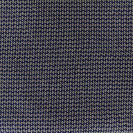 Wool fabric mini Houndstooth - light brown x 10cm