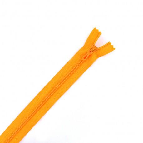 Closed bottom zipper - mandarin