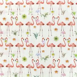 Tissu popeline Petite tropical dreams x 11cm