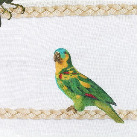 Tissu voile de lin (300cm) - Costarica  x 45cm