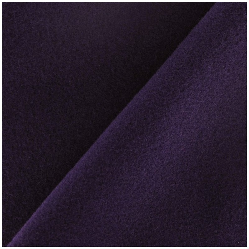 tissu drap manteau encre violette x 10cm ma petite mercerie. Black Bedroom Furniture Sets. Home Design Ideas