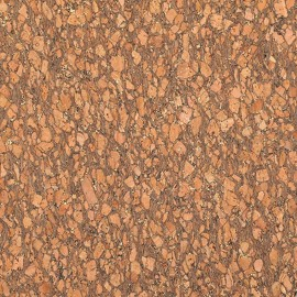 Cork fabric golden glitter x 10cm