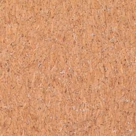 Cork fabric - silvery glitter x 10cm