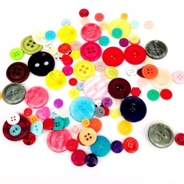 Set of buttons (200g) - multi