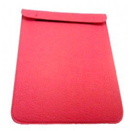Ipad felt cover - fuchsia