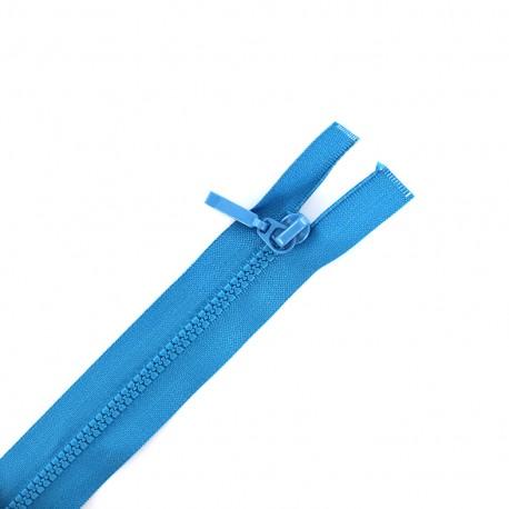 Fermeture Eclair® séparable fine synthétique - bleu gitane
