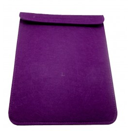 Ipad felt cover - purple