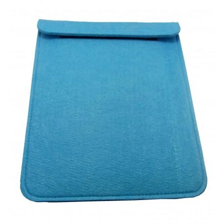 Housses Ipad en feutrine - bleu