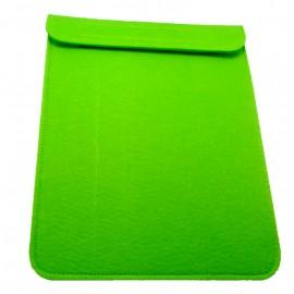 Housse Ipad en feutrine - vert clair