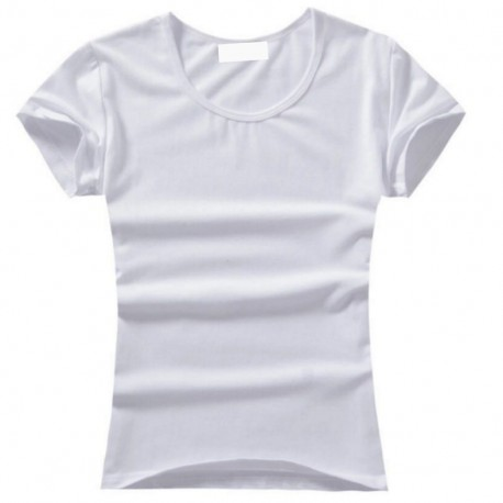 T-shirt to customize 6 years old - white