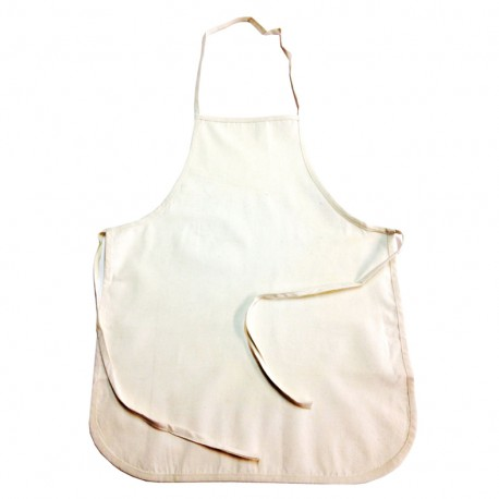 Apron to customize for children - natural