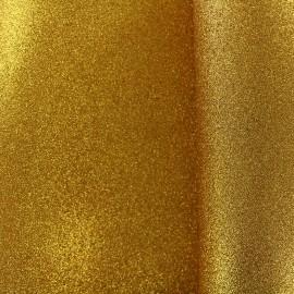 Mousse pailletée à découper - or x 10cm