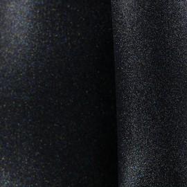 Mousse pailletée à découper - noir x 10cm