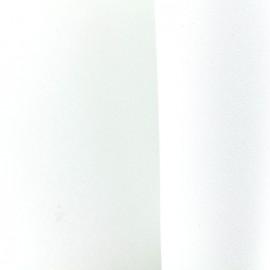Mousse pailletée à découper - blanc x 10cm