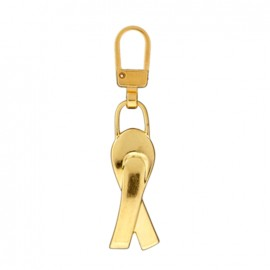 Zipper pull Felicity - gold