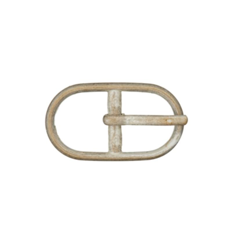 0b2e8eca3259 Boucle ceinture métal Casille Nickelé Mat 12 mm - Ma Petite Mercerie