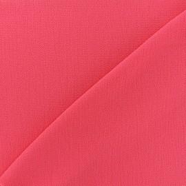 ♥ Coupon tissu 60 cm X 145 cm ♥ crêpe gaufré Linda - fuchsia