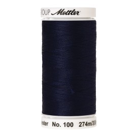 Bobine de fil Mettler Seralon 274 m - N°16 - Indigo sombre