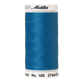 Bobine de fil Mettler Seralon 274 m - N°22 - Bleu vague