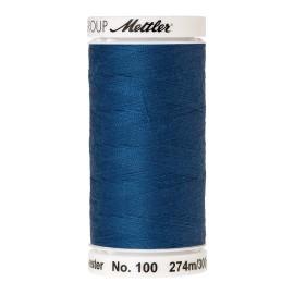 Bobine de fil Mettler Seralon 274 m - N°24 - Bleu colonial