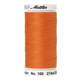 Thread bobbin Mettler Seralon 274 m - N°122 - Pumpkin