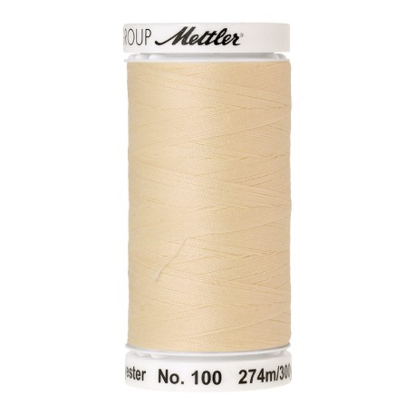 Thread bobbin Mettler Seralon 274 m - N°129 - Vanilla