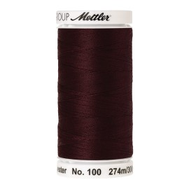 Bobine de fil Mettler Seralon 274 m - N°166 - Haricot rouge