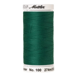 Thread bobbin Mettler Seralon 274 m - N°222 - Green