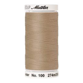 Bobine de fil Mettler Seralon 274 m - N°265 - Ivoire