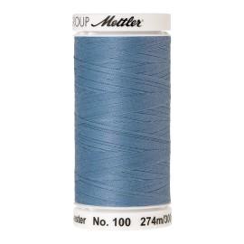 Thread bobbin Mettler Seralon 274 m - N°272 - Azure Blue