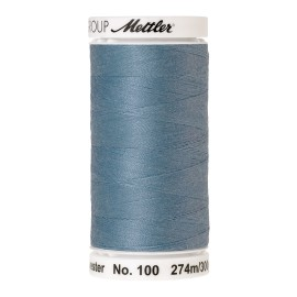 Bobine de fil Mettler Seralon 274 m - N°616 - Turquoise givré