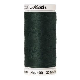 Bobine de fil Mettler Seralon 274 m - N°627 - Vert profond