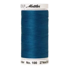 Bobine de fil Mettler Seralon 274 m - N°693 - Bleu tropical