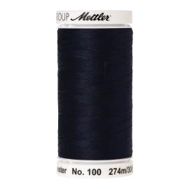 Bobine de fil Mettler Seralon 274 m - N°827 - Bleu foncé