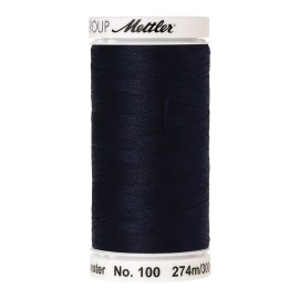Thread bobbin Mettler Seralon 274 m - N°827 - Dark Blue