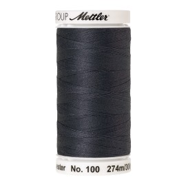 Thread bobbin Mettler Seralon 274 m - N°878 - Mousy Gray