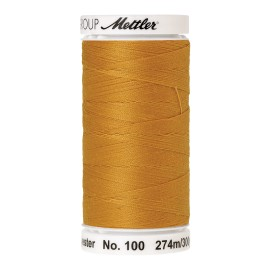 Thread bobbin Mettler Seralon 274 m - N°892 - Star Gold