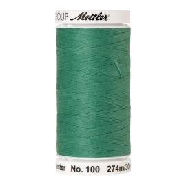 Bobine de fil Mettler Seralon 274 m - N°907 - Bouteille verte