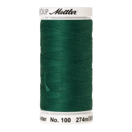 Thread bobbin Mettler Seralon 274 m - N°909 - Field Green