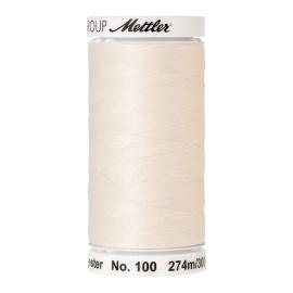 Thread bobbin Mettler Seralon 274 m - N°1000 - Eggshell