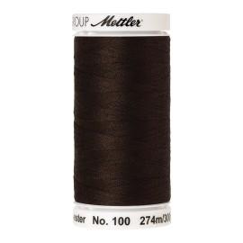 Thread bobbin Mettler Seralon 274 m - N°1048 - Dark Amber