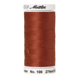 Bobine de fil Mettler Seralon 274 m - N°1054 - Rouge brique