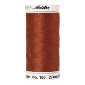 Thread bobbin Mettler Seralon 274 m - N°1054 - Brick Red