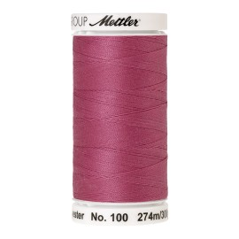 Thread bobbin Mettler Seralon 274 m - N°1060 - Heather Pink
