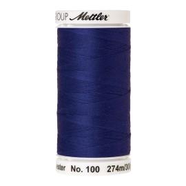 Bobine de fil Mettler Seralon 274 m - N°1078 - Bleu feu